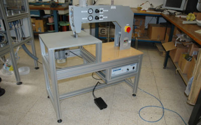 Máquinas de coser por ultrasonidos